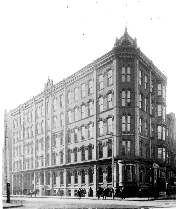 Clapp Block from Des Moines Public Library Collection