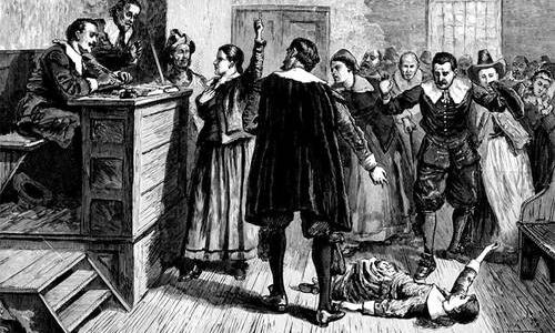 Sarah Clark (1620 – 1698)   Accused of Witchcraft in1692